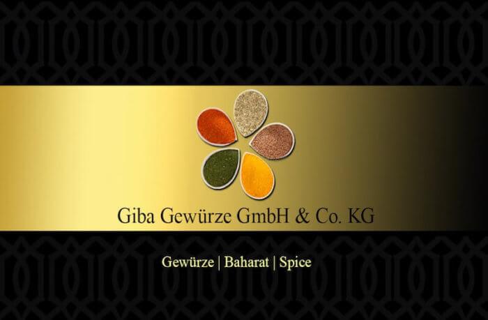Gibafoods Visitenkarte Rueckseite