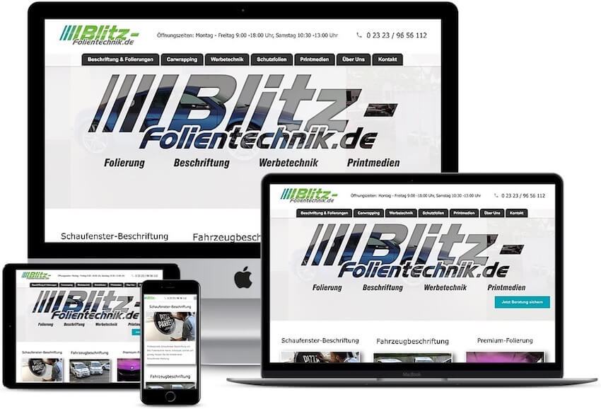 Referenz-Blitz-Folientechnik.de