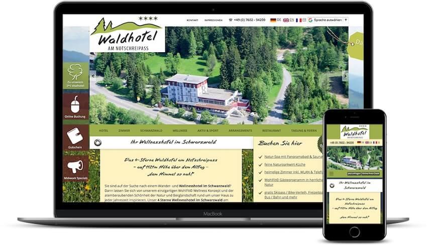 Referenz - Wellnesshotel Schwarzwald